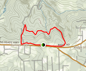 Rough & Ready Ditch and Wildflower Trail Loop Map