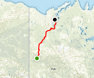 Dempster Highway Map