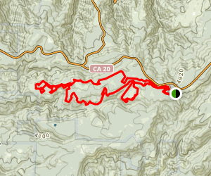 Chalk Bluff Loop  Map