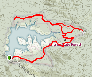 Lake Paluma Trail Map