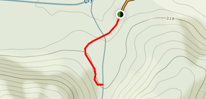 Crystal Creek Rock Slides Trail Map