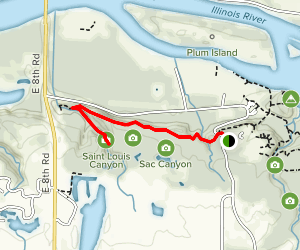 Saint Louis Canyon Trail Map