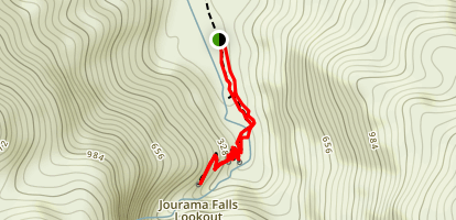 Jourama Waterfall Hike Map