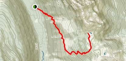 Jumbo Pass Trail Map