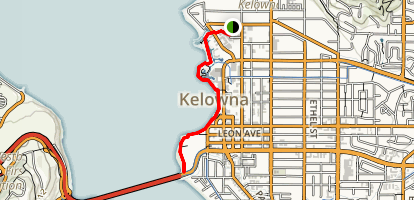 Kelowna Waterfront Trail Map
