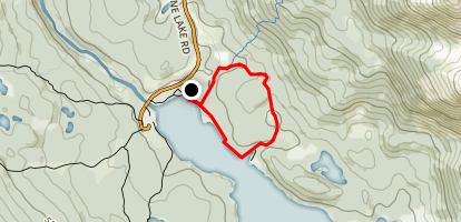 Mary Schaffer Loop Trail Map