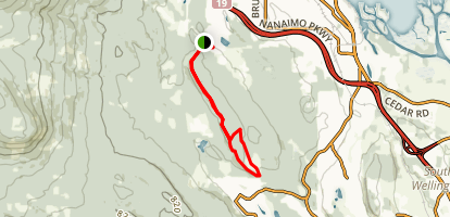Extension Ridge Trail Loop Map