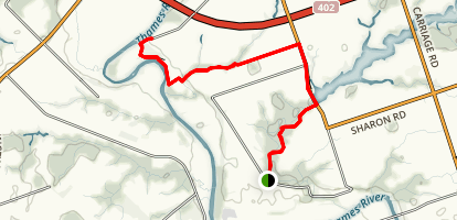 Thames River Valley Trail Map