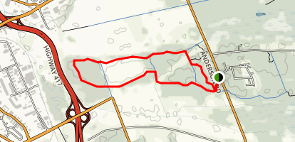 Mer Bleue Conservation Area Loop Trail Map