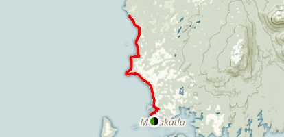 Metlakatla Wilderness Trail Map