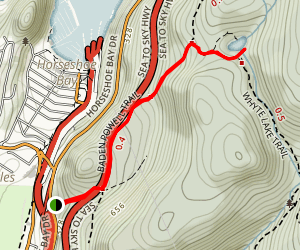 Baden-Powell Trail to White Lake Map