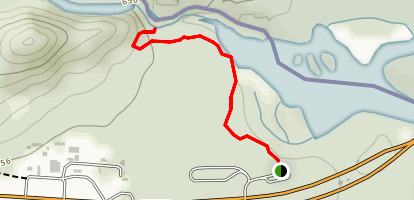 High Falls Trail  Map