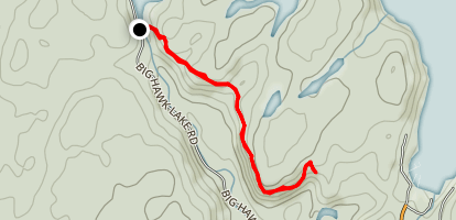 Crests of Kennisis Trail  Map