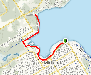 Rotary Waterfront Trail Map