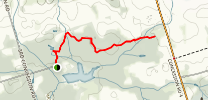 Oak Ridges Trail  Map