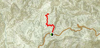 Three Points to Sulfur Springs Map