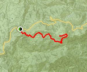 Three Points to Mt Waterman Map