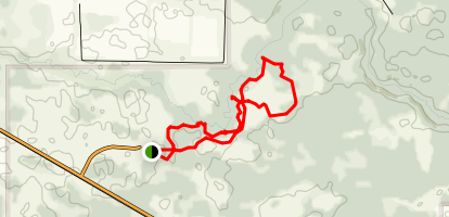 Spruce and Juniper Loop Trails Map