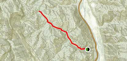 Cabin Creek Trail Map