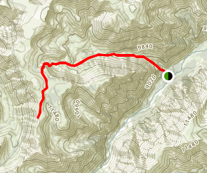 Meadow Creek Basin Map