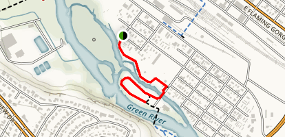 Island Park Trail Map