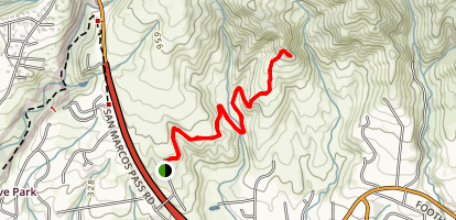 Atascadero Creek Trail Map