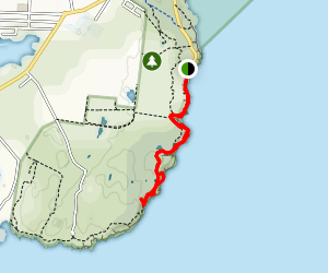 Cape Bailey Track Map