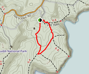 Bombi Loop via Old Quarry Trail Map