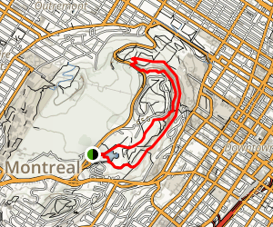 Parc du Mont-Royal Map