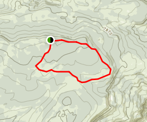 Muddy Mountain Loop Trail Map