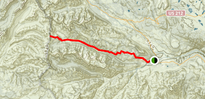 North Crandall Trail Map