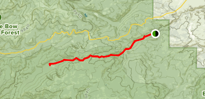 Baby Lake Trail Map