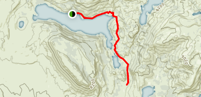 Half Moon Trail Map