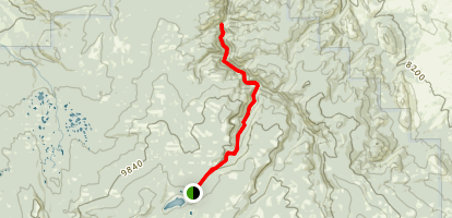 Deep Creek / Rock Creek Trail Map