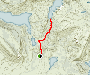 Fayette Lake Trail Map