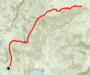 Little Half Moon Trail Map