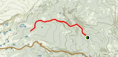 North Fork Trail Map