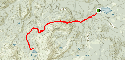 Stough Creek Basin Trail Map