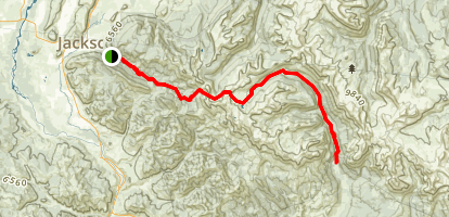 Granite Highline Trail Map