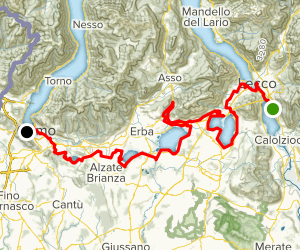 Via Baraggia Trail Map