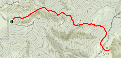 Shadow Mountain Map