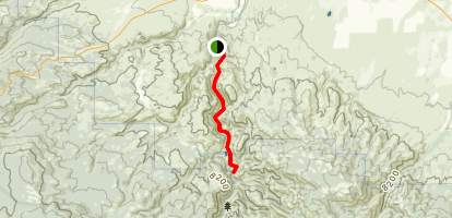 Encampment River Trail Map