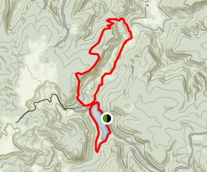 Cook Lake and Cliff Swallow Loop Trail Map