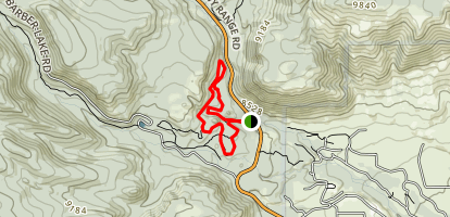 Corner Mountain Loop Trail Map