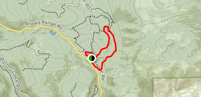 Little Laramie Trails Map