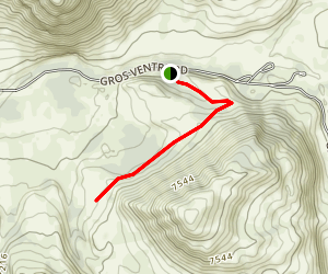 Red Hills Trail Map
