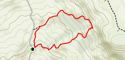 Chicken Creek Loop Trail Map