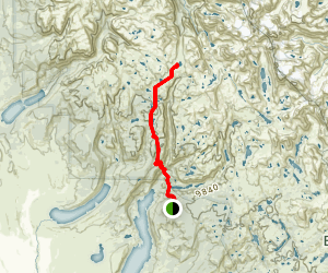 Pine Creek Canyon Trail Map