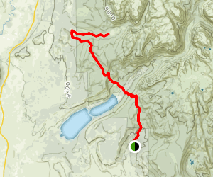 Boulder Basin Trail Map