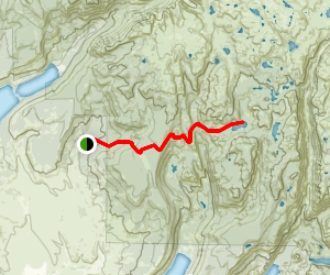 Section Corner Lake Trail Map